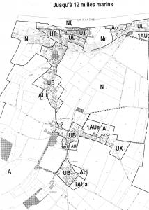 Plan de zonage de Saint Côme de Fresné