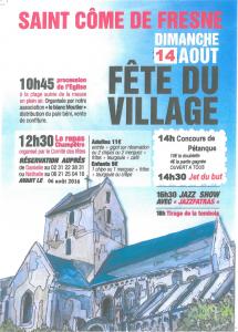 Fete du village 2016