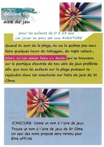 concours dessin Saint Come de Fresne